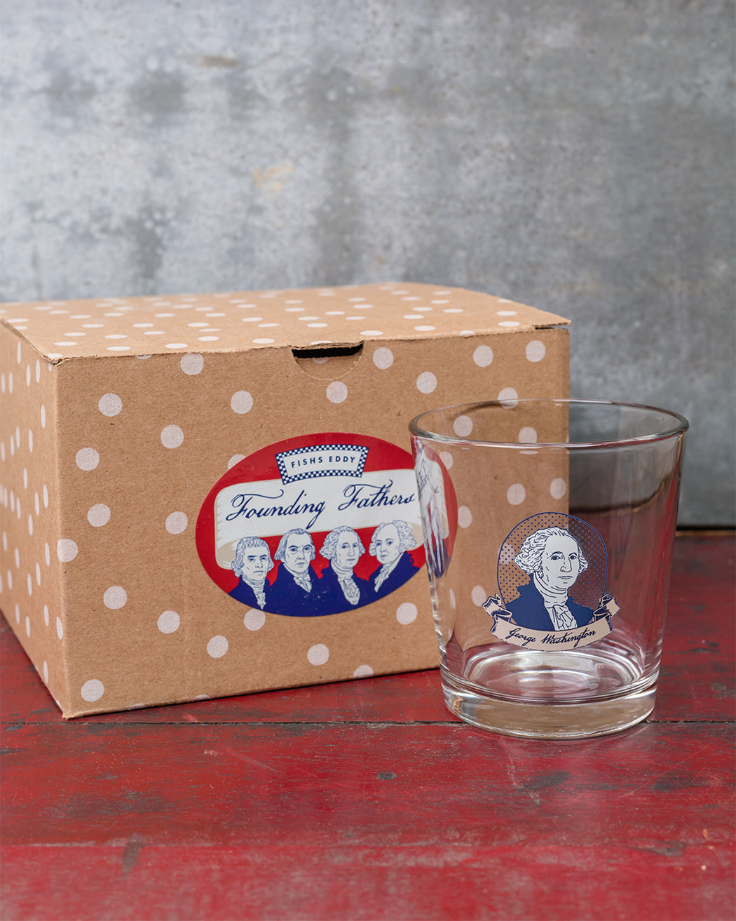 Founding Fathers Gift Box - Set of 4 - Fishs Eddy