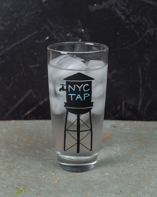 NYC Tap Water Glass