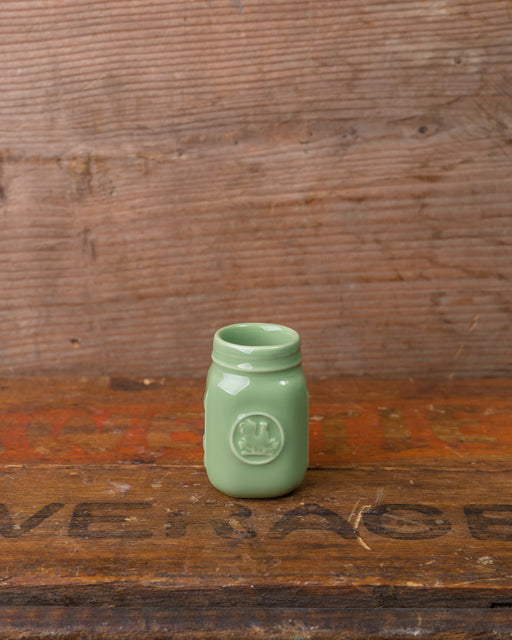 Mini Mason Jar Toothpick Holder - Sage