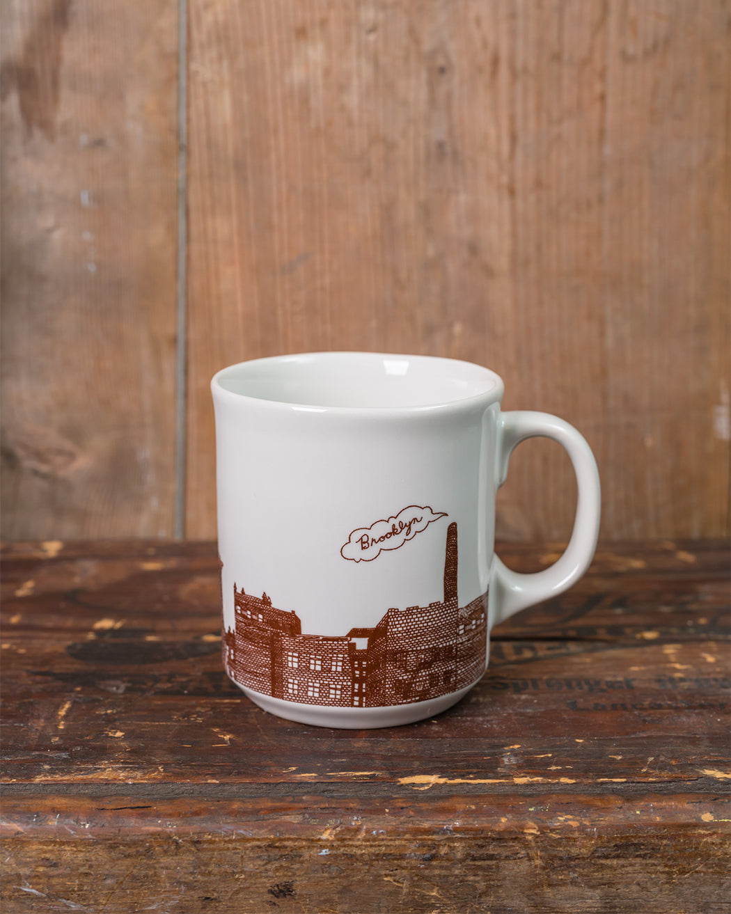 Brooklyn Mug - Fishs Eddy