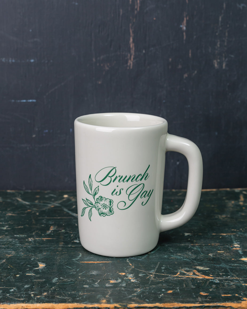 """Brunch is Gay"" Mug - Fishs Eddy"