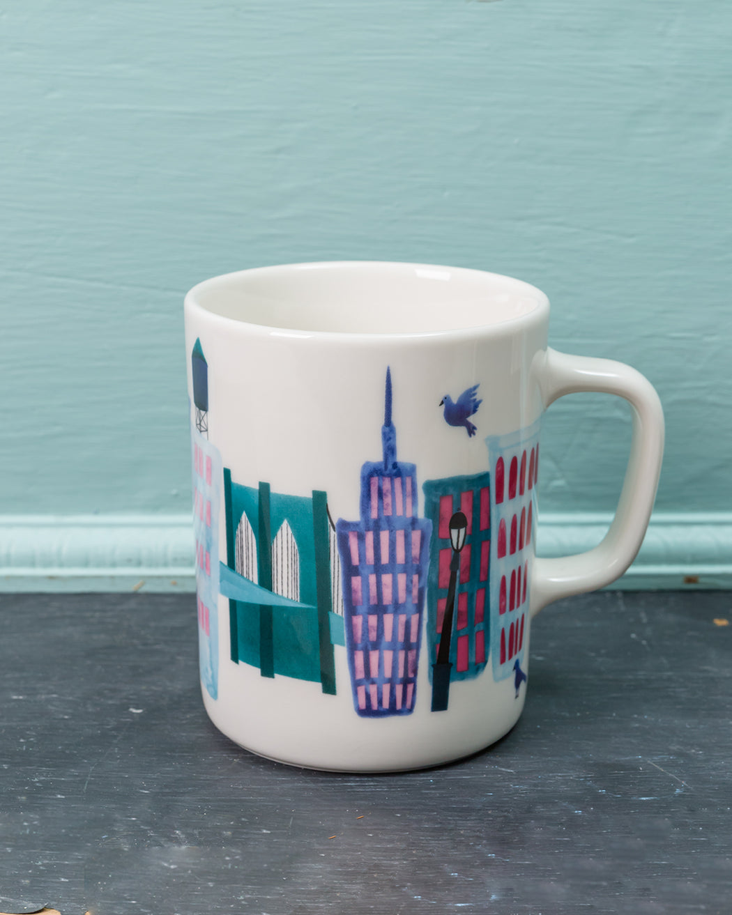 Collage City Mug - Fishs Eddy