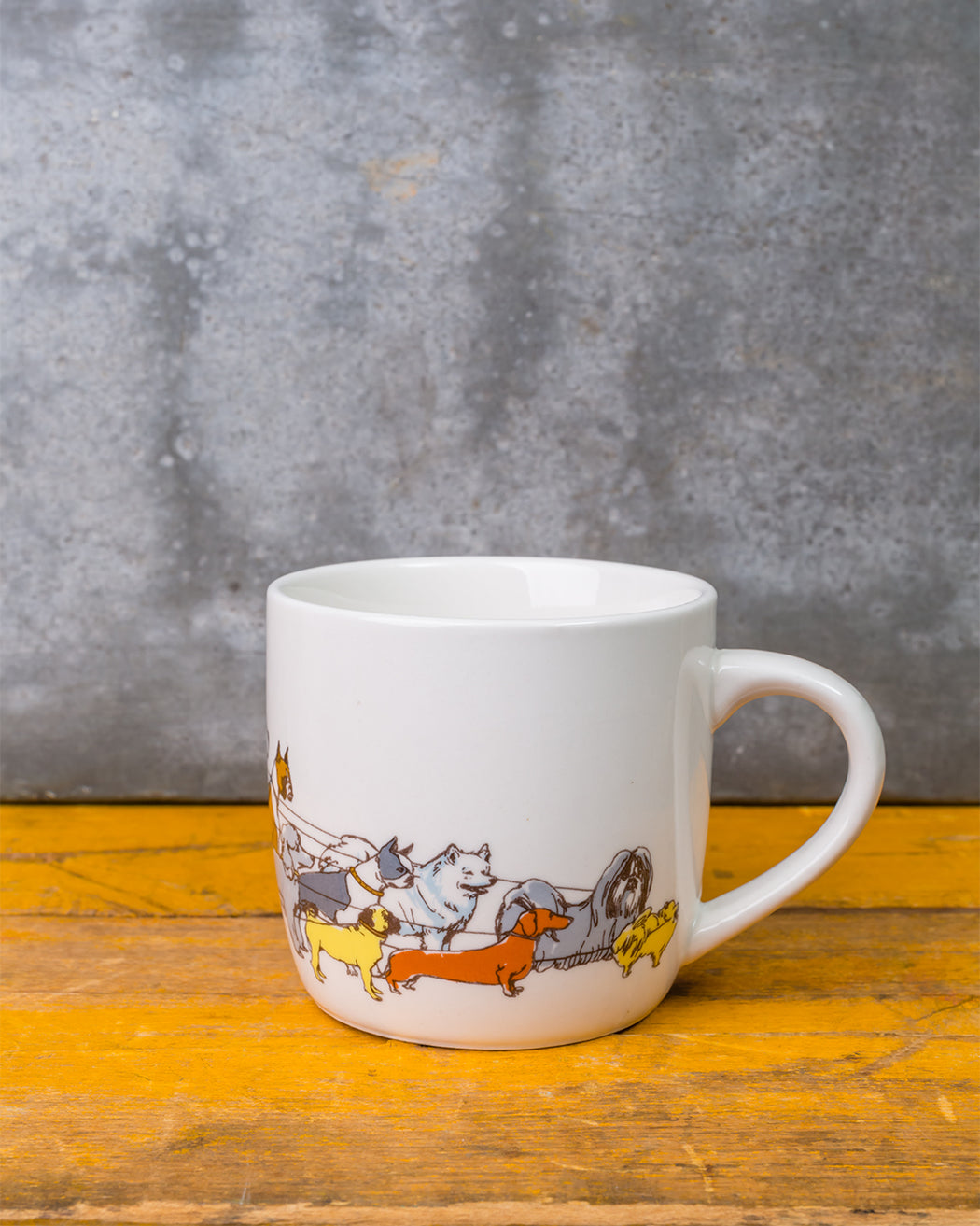 Dog Walker Mug - Fishs Eddy