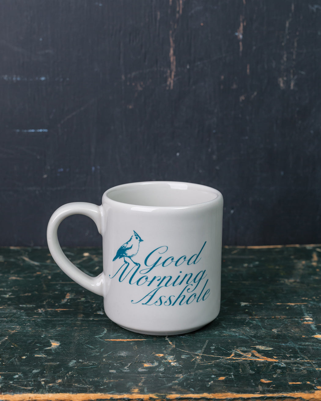 """Good Morning Asshole"" Mug - Fishs Eddy"