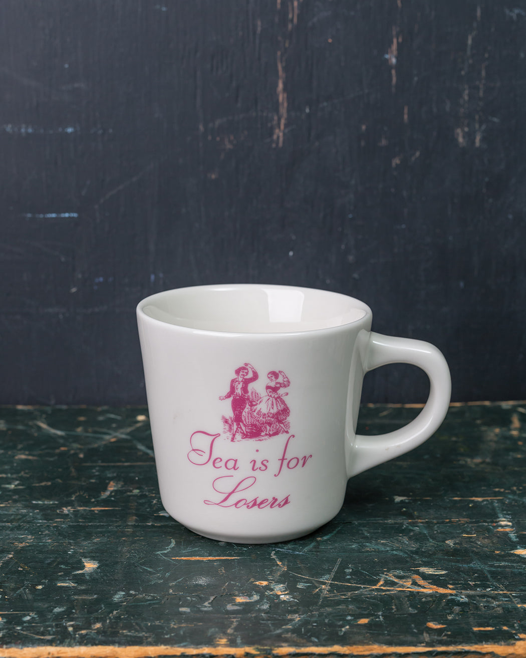 """Tea is for Losers"" Mug - Fishs Eddy"