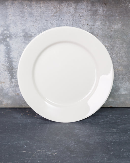 Diner White Bread Plate