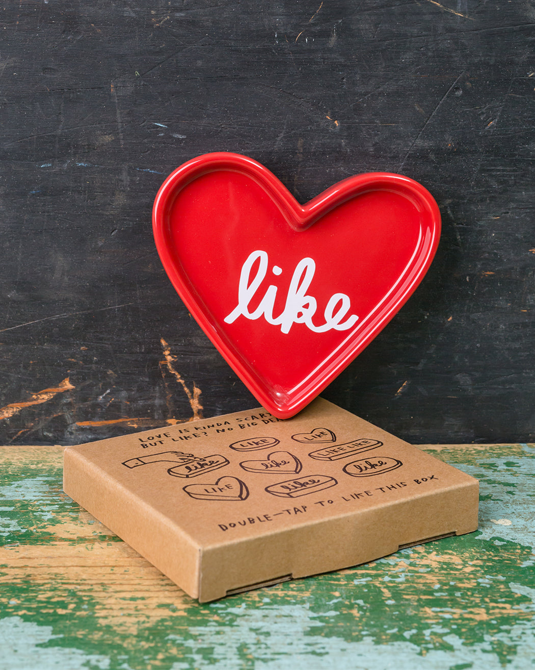 """Like"" Tray + Gift Box - Fishs Eddy"