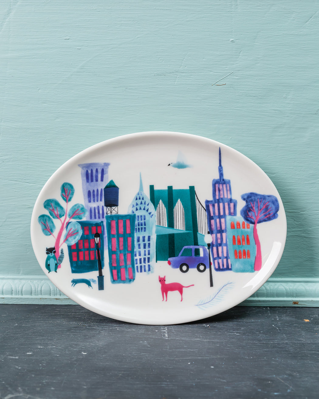 Collage City Tray - Fishs Eddy