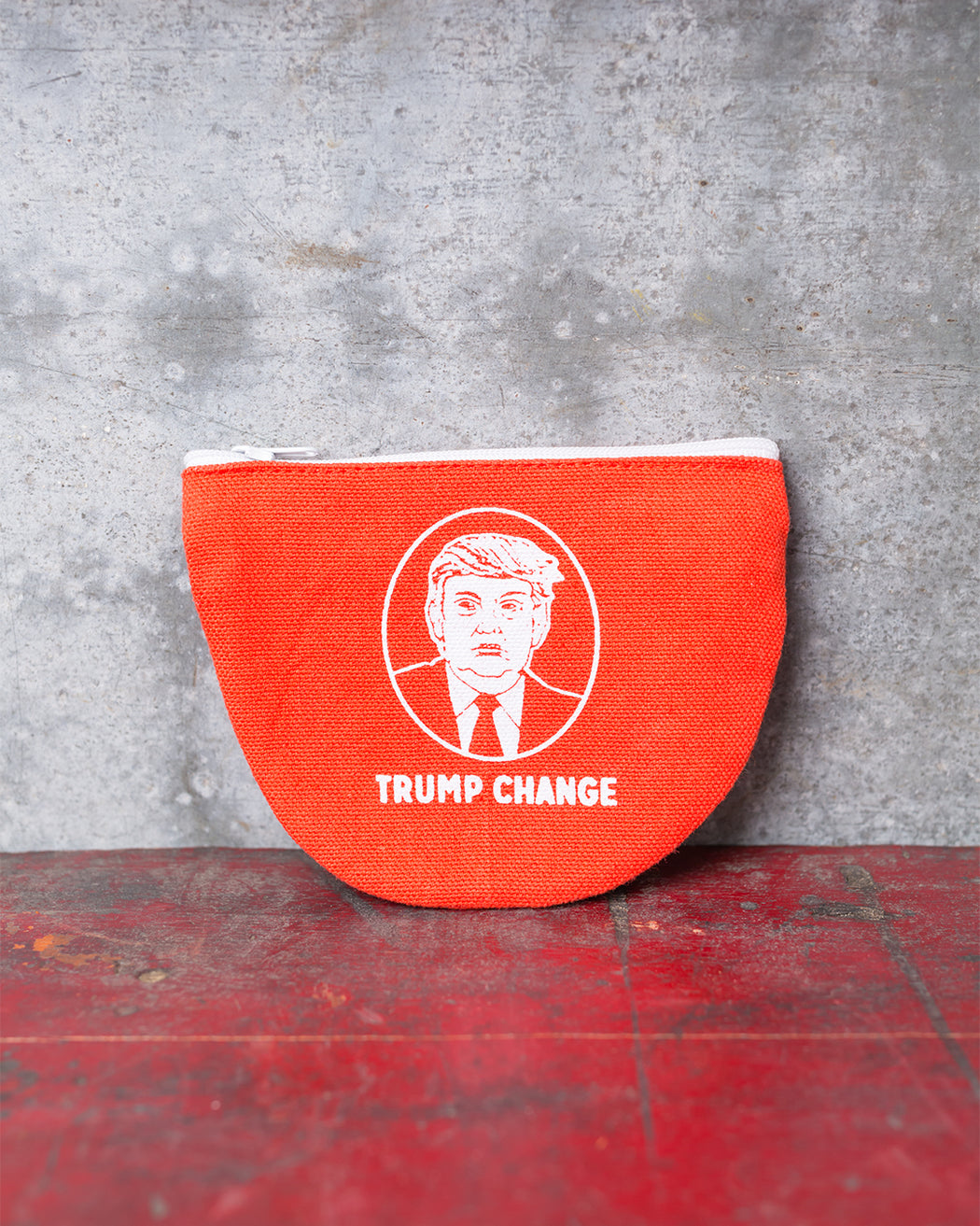"""Trump Change"" Coin Pouch - Fishs Eddy"