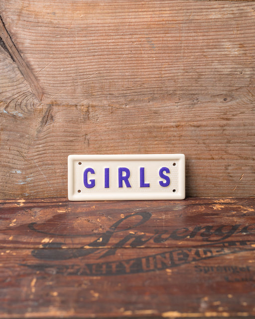 """Girls"" Sign"