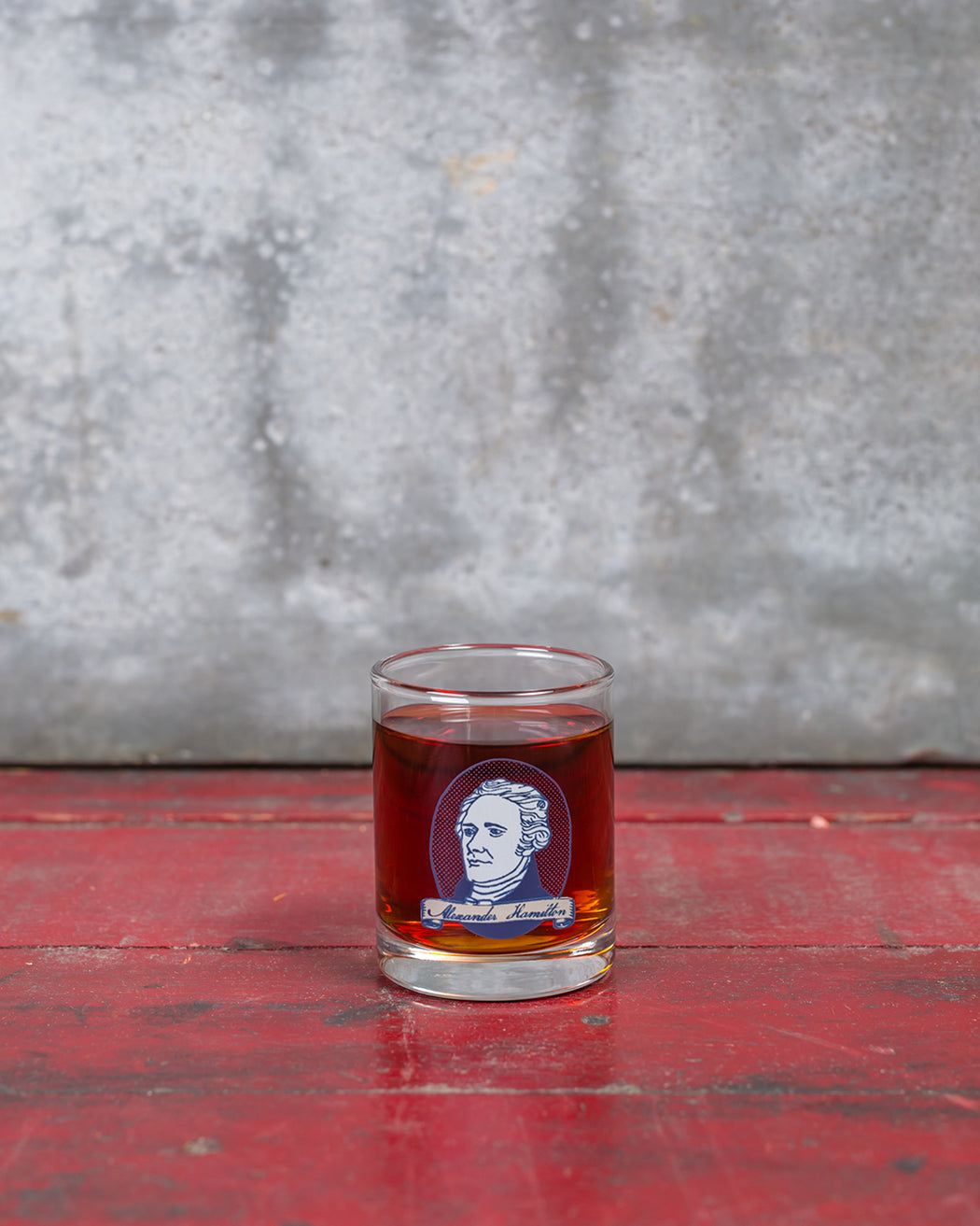 Alexander Hamilton Shot Glass - Fishs Eddy