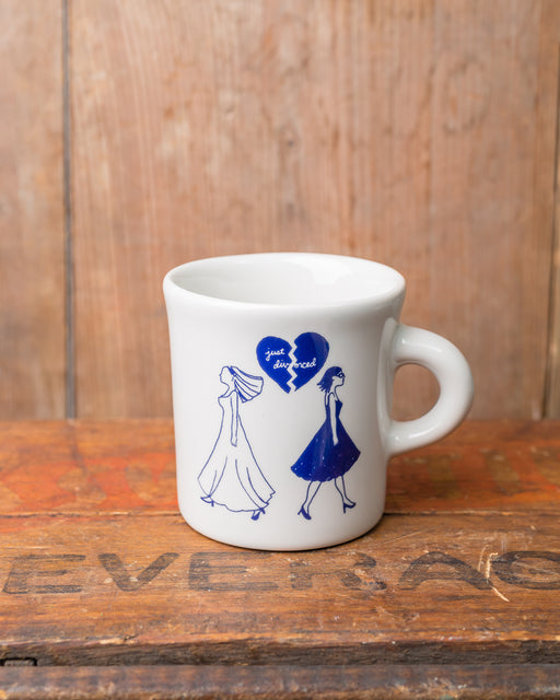 """Just Divorced"" Women Mug"