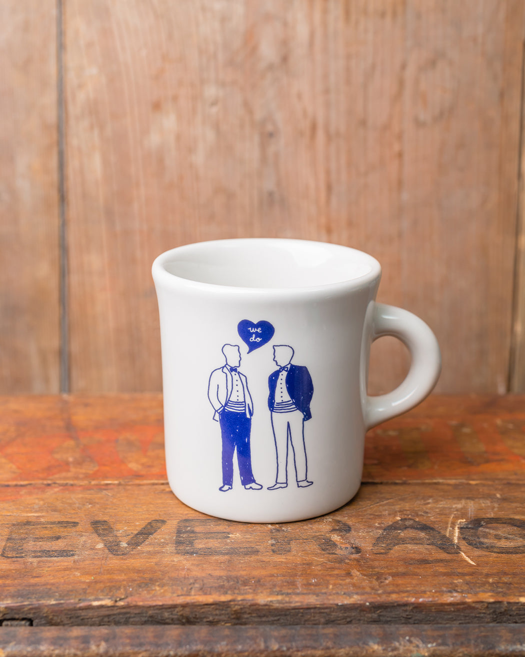 """We Do"" Men Mug - Fishs Eddy"
