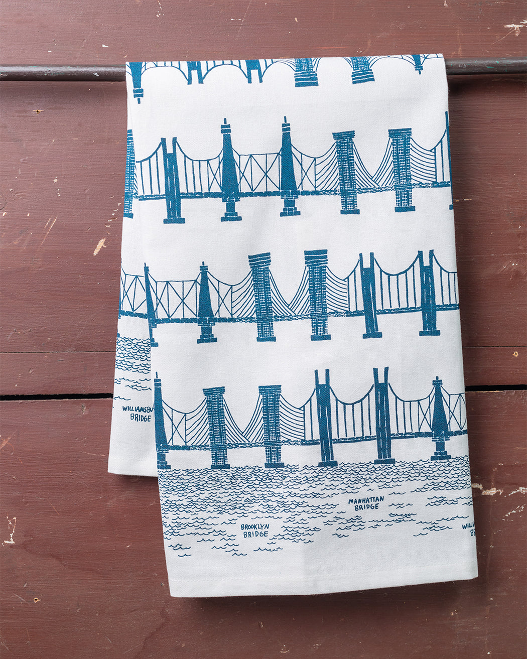 Bridge & Tunnel Dish Towel - Fishs Eddy
