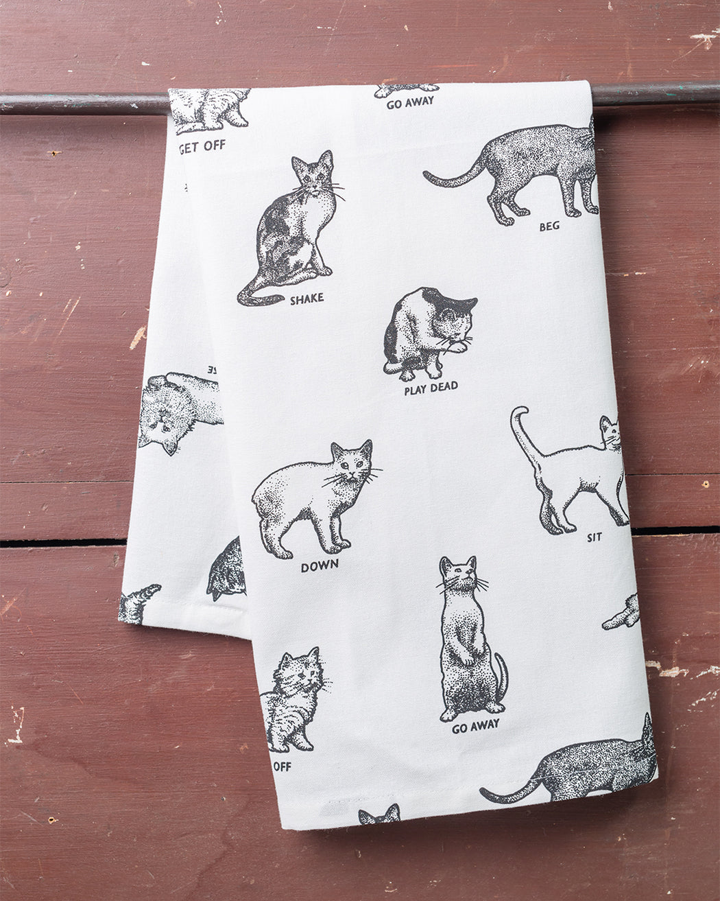 Cats Dish Towel - Fishs Eddy