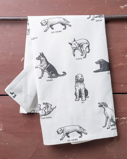Dogs Dish Towel