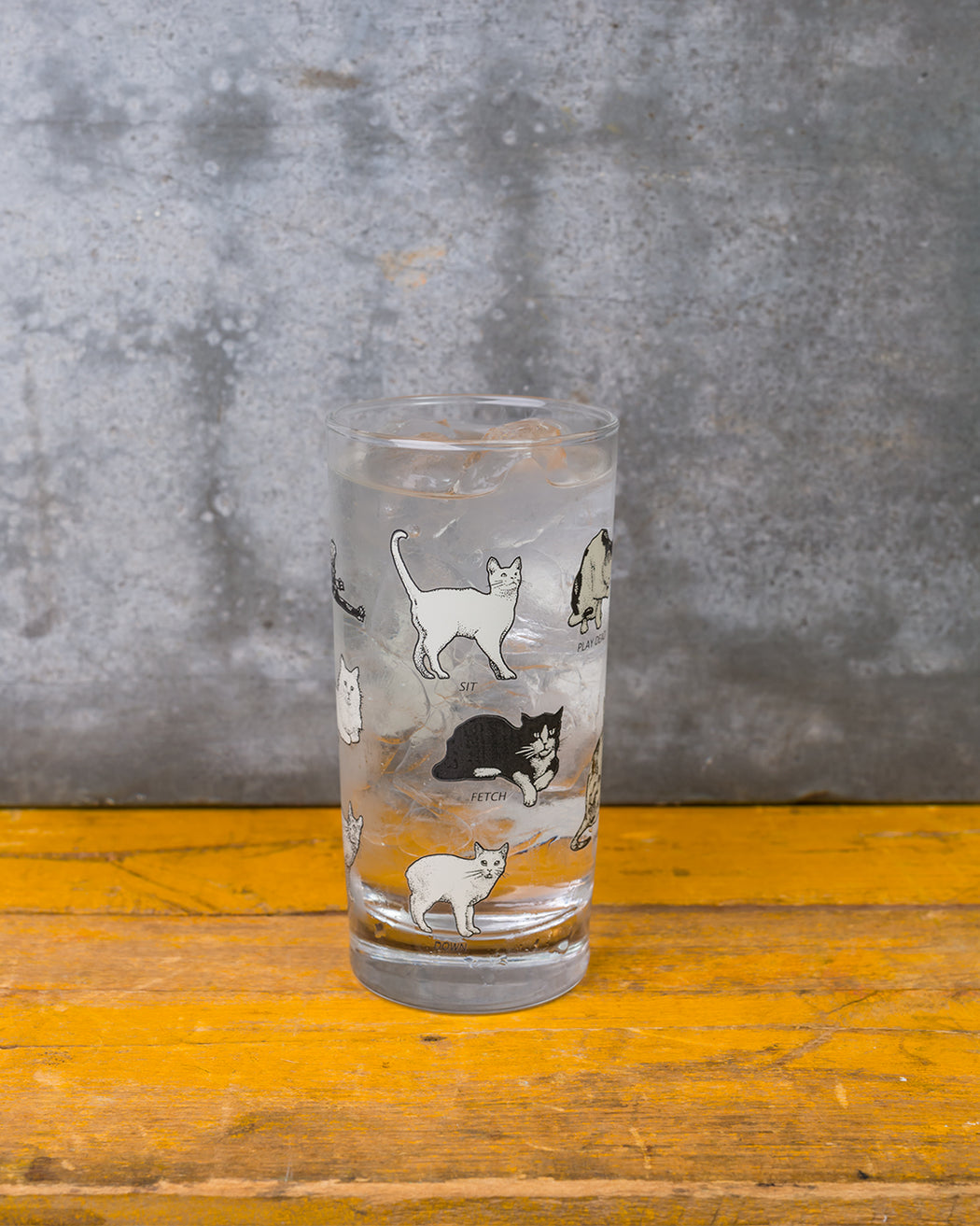 Cats Glass - Fishs Eddy