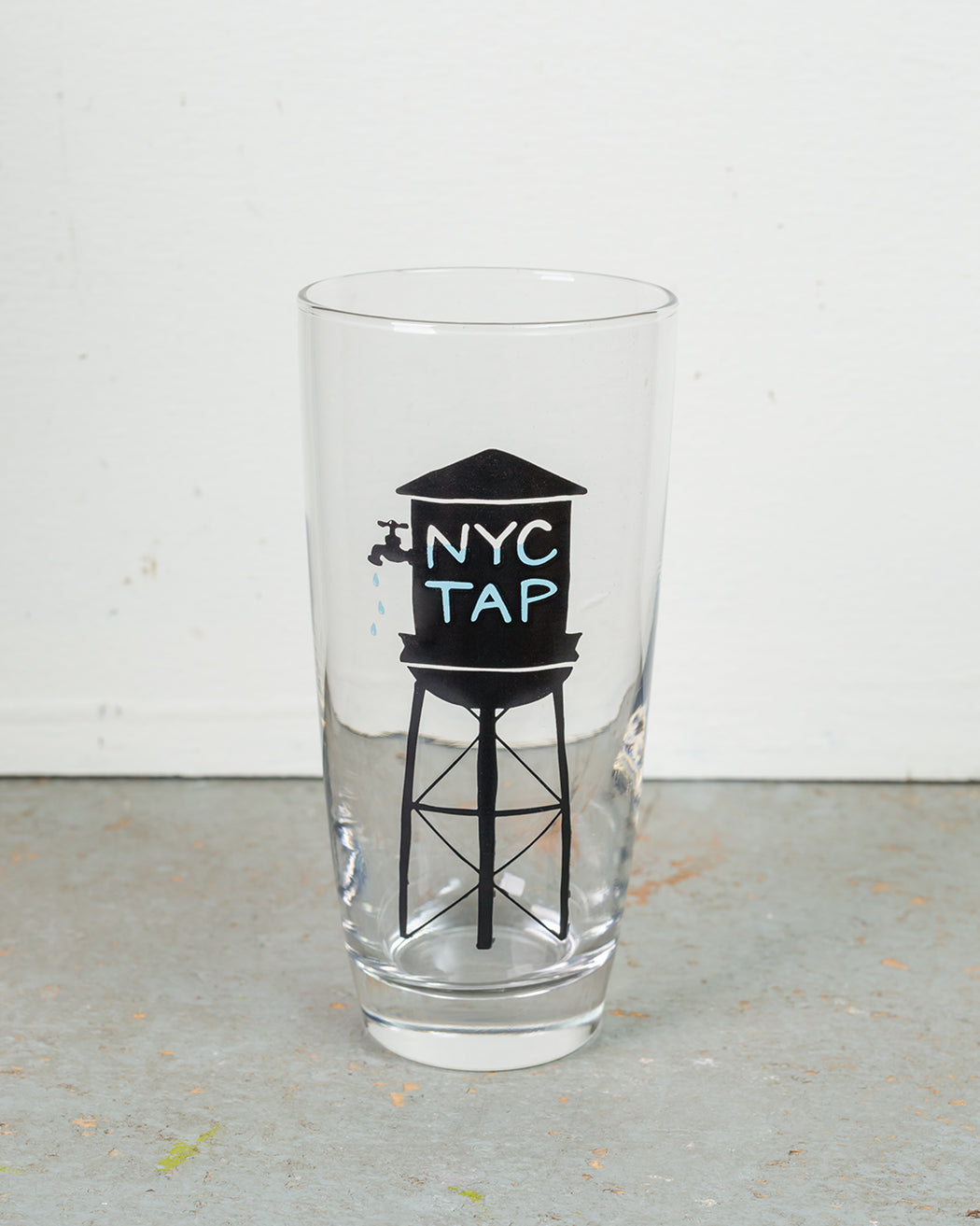 NYC Tap Water Glass - Fishs Eddy