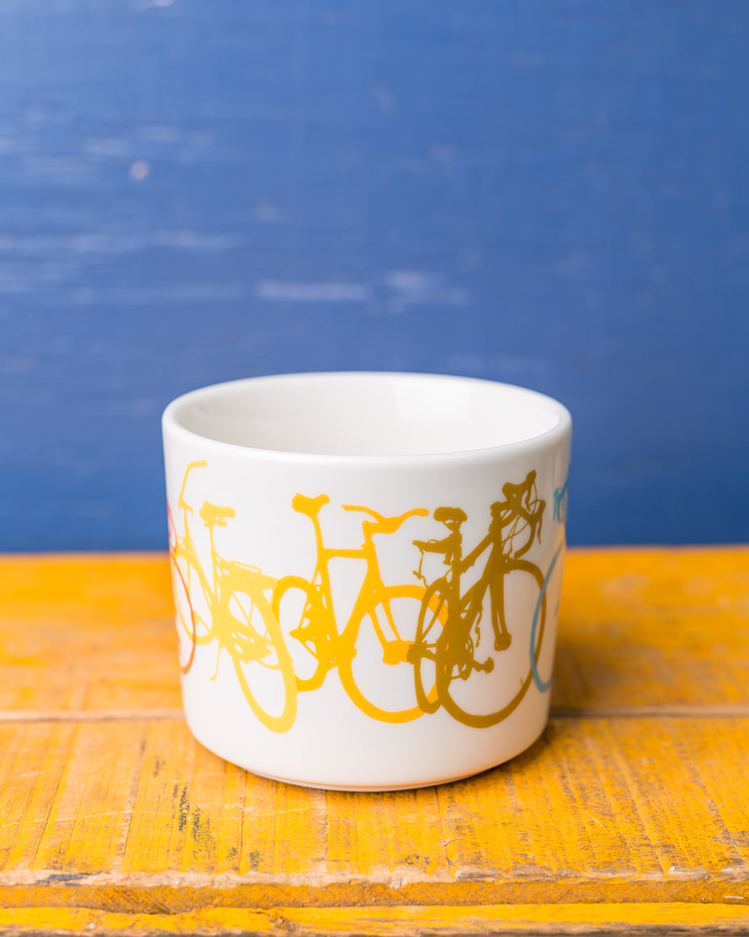 Rainbow Bicycle Mug - Fishs Eddy