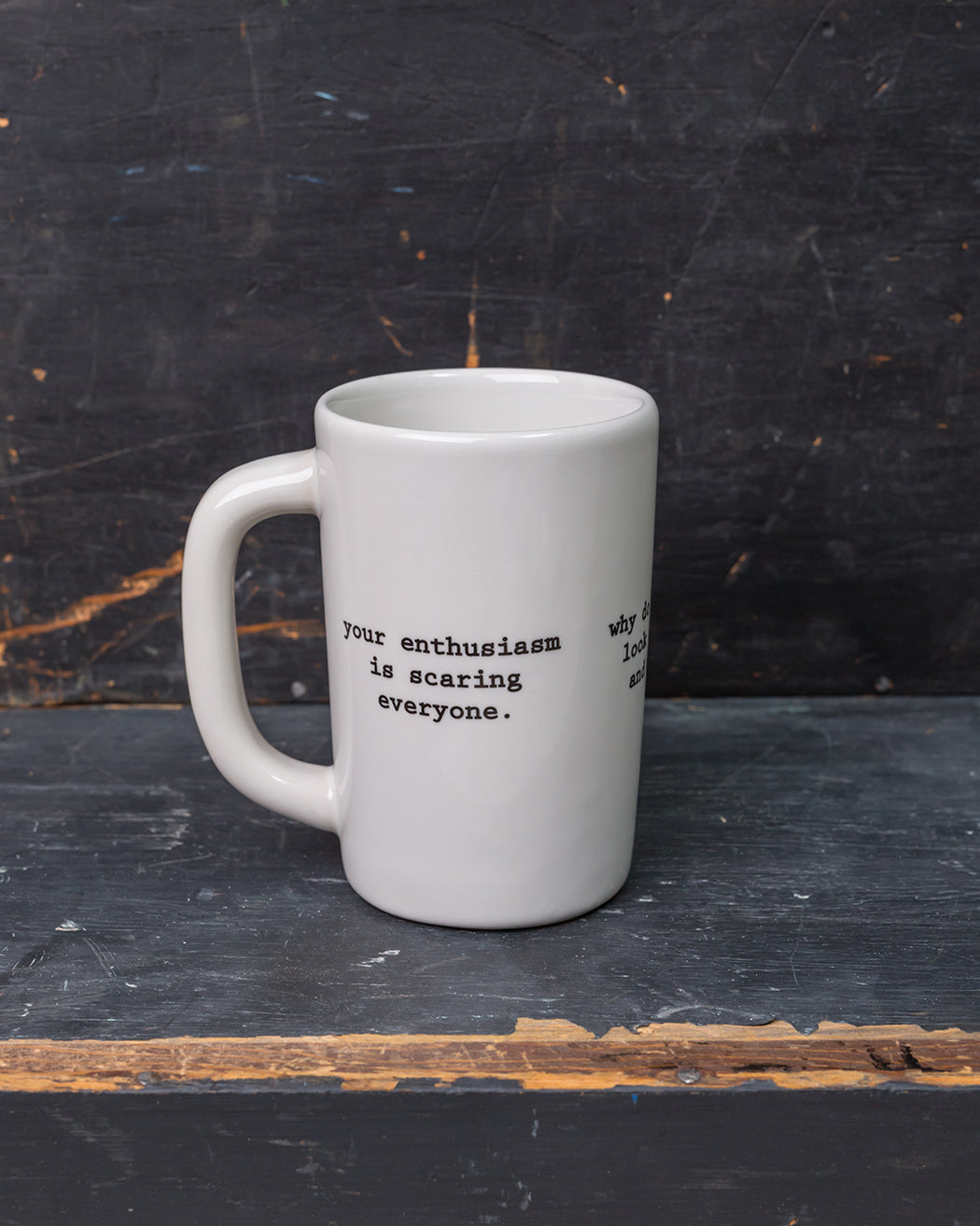 Intervention-ware Mug - Fishs Eddy