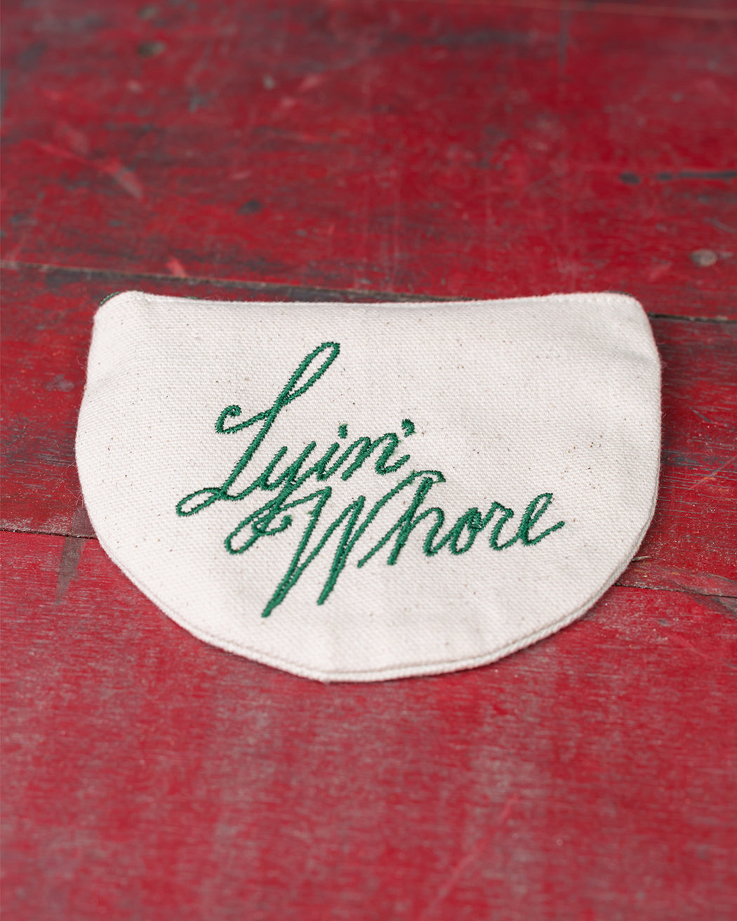 """Lyin' Whore"" Coin Pouch - Fishs Eddy"