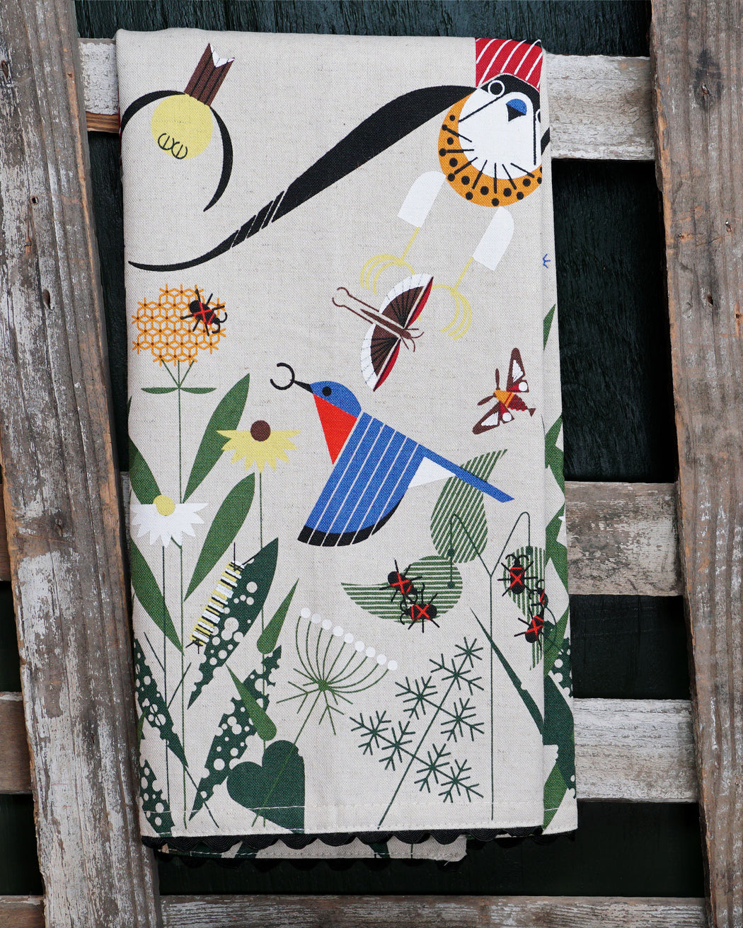 Meadow Dish Towel - Fishs Eddy