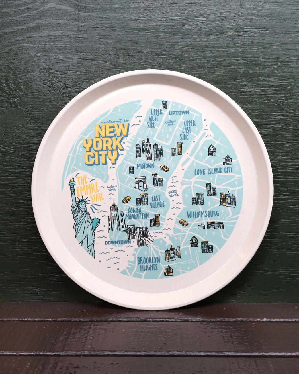 NYC Map Tray - Fishs Eddy