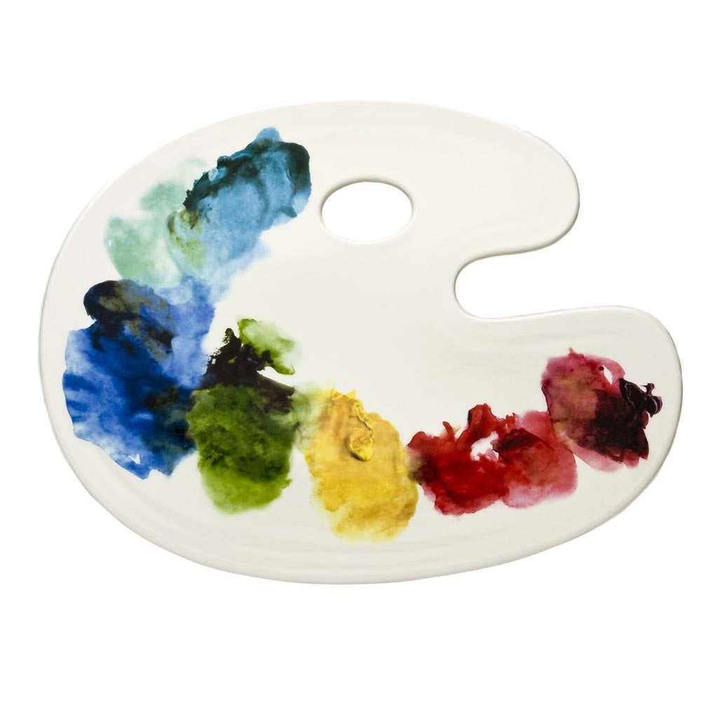Artist Palette Cheese Tray - Fishs Eddy