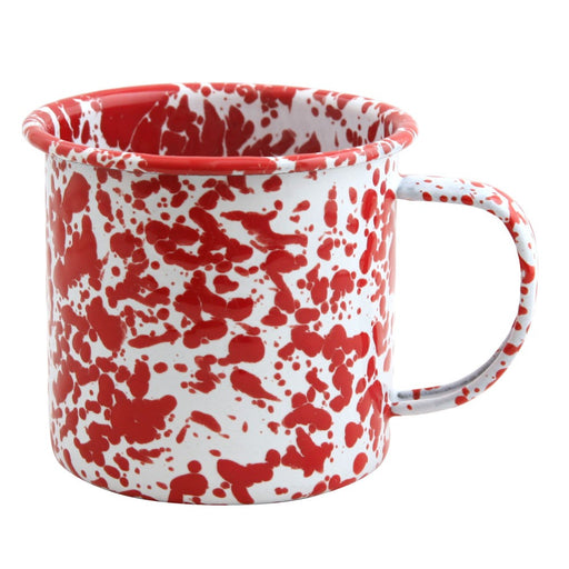 Enamel Mug - Red Speckle