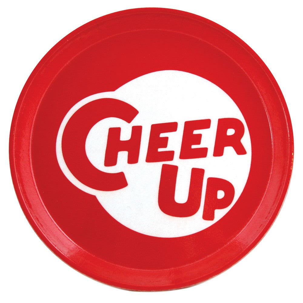 """Cheer Up"" Tray - Fishs Eddy"