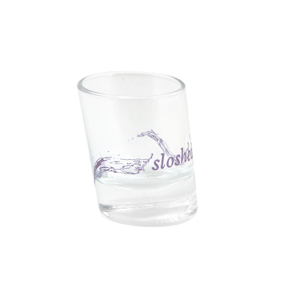 """Sloshed"" Shot Glass - Fishs Eddy"