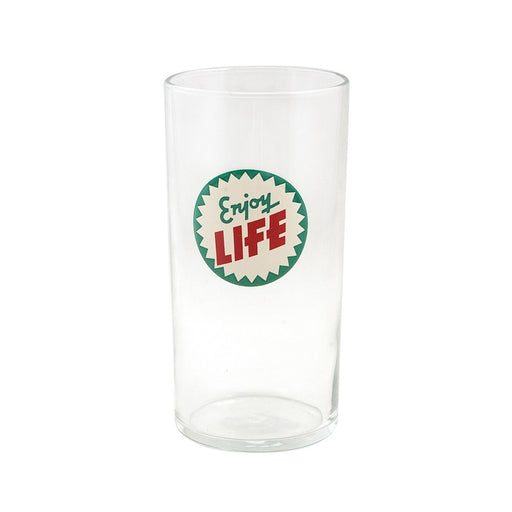 """Enjoy Life"" Glass"