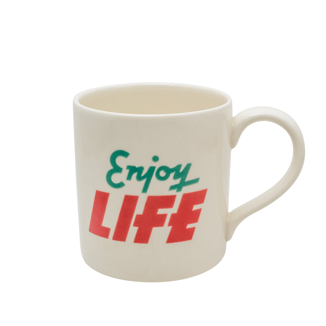 """Enjoy Life"" Mug - Fishs Eddy"