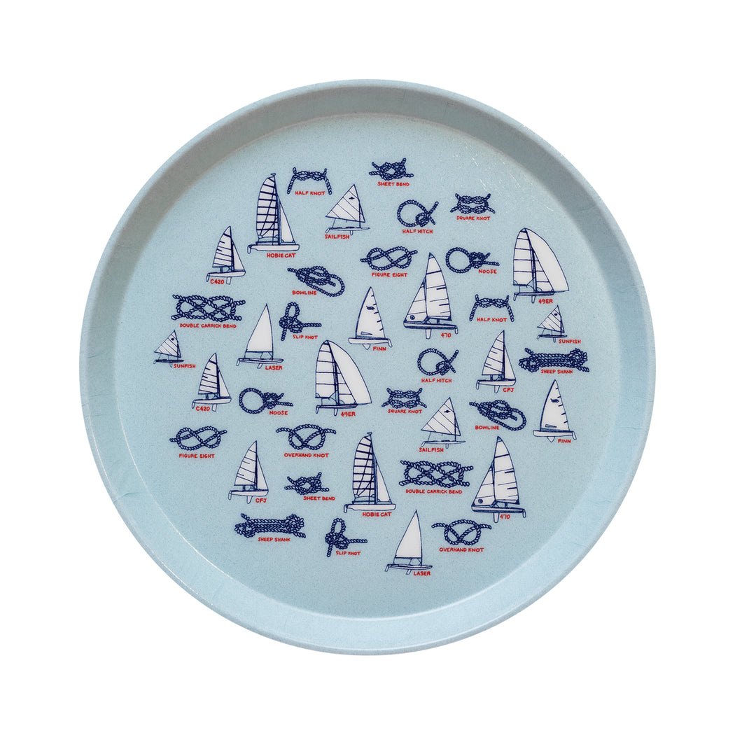 Knots & Boats Tray - Fishs Eddy
