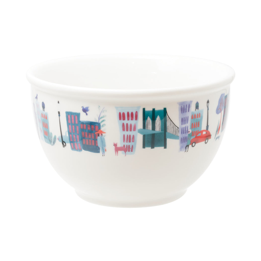 Collage City Cereal Bowl - Fishs Eddy