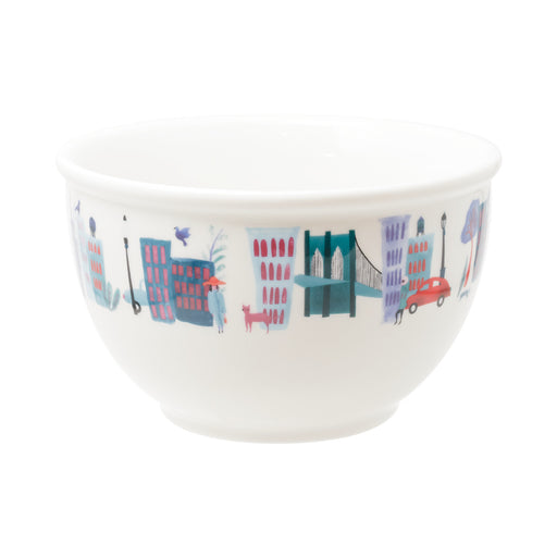 Collage City Cereal Bowl