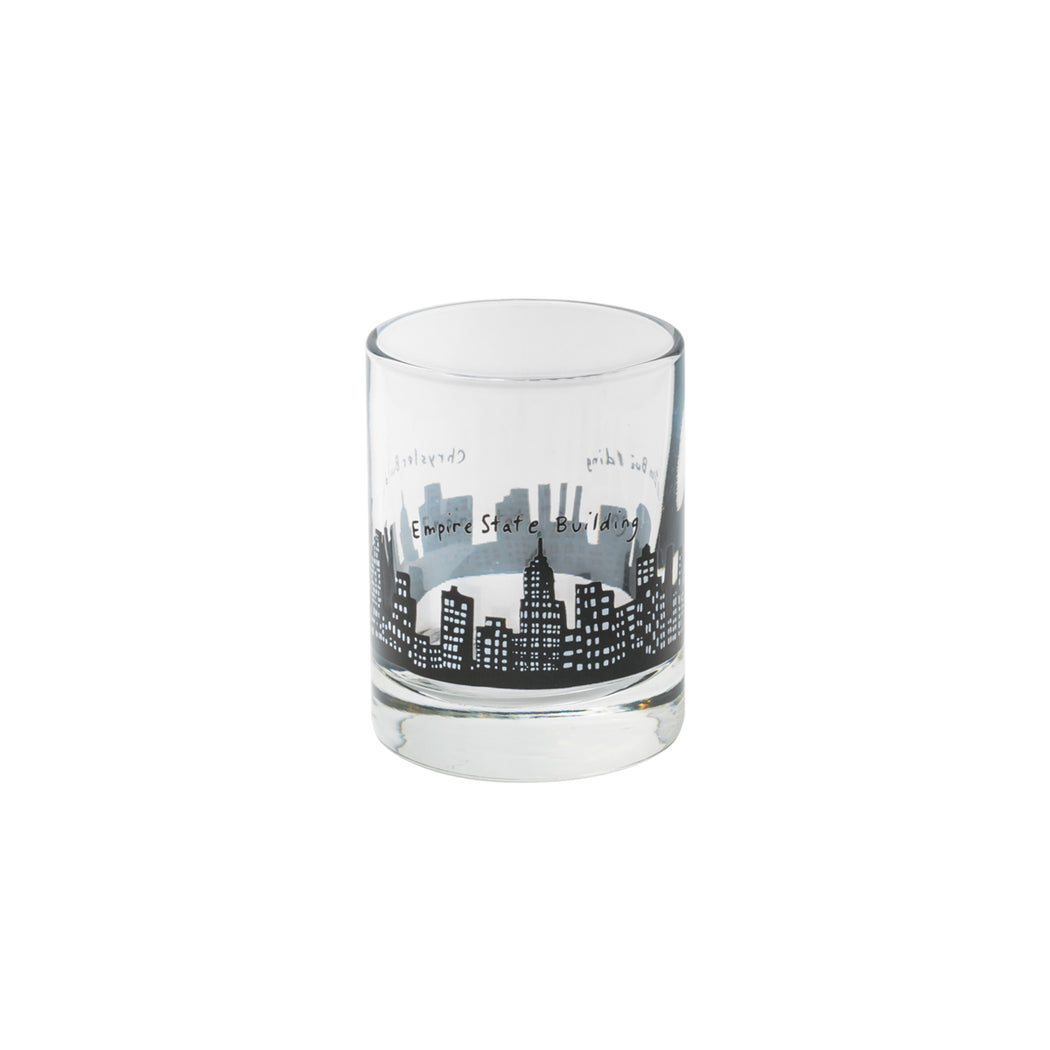 212 Skyline Shot Glass - Fishs Eddy