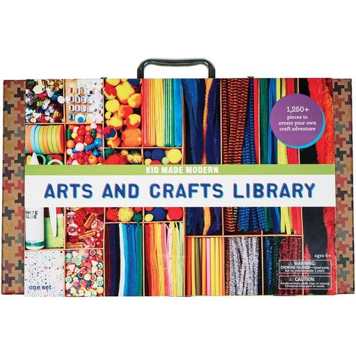Kid Made Modern Arts & Crafts Library Kit