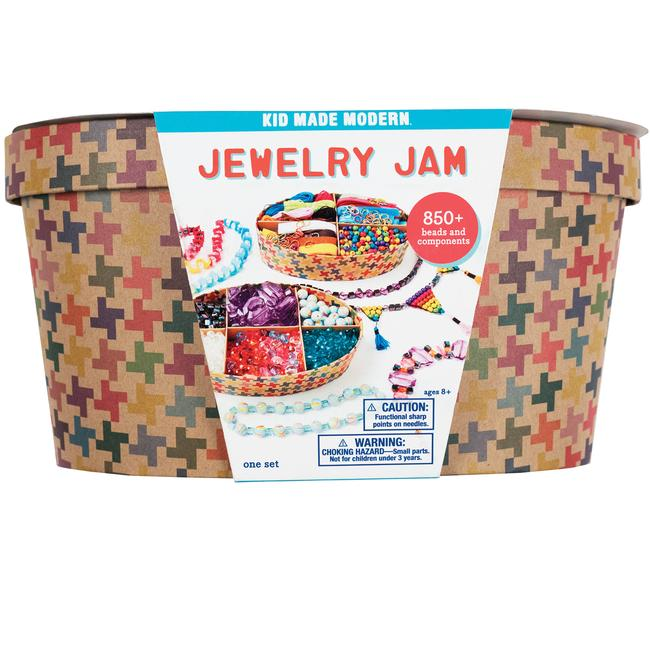 Kid Made Modern Jewelry Jam Kit - Fishs Eddy
