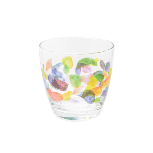 Brush Strokes Tumbler Glass