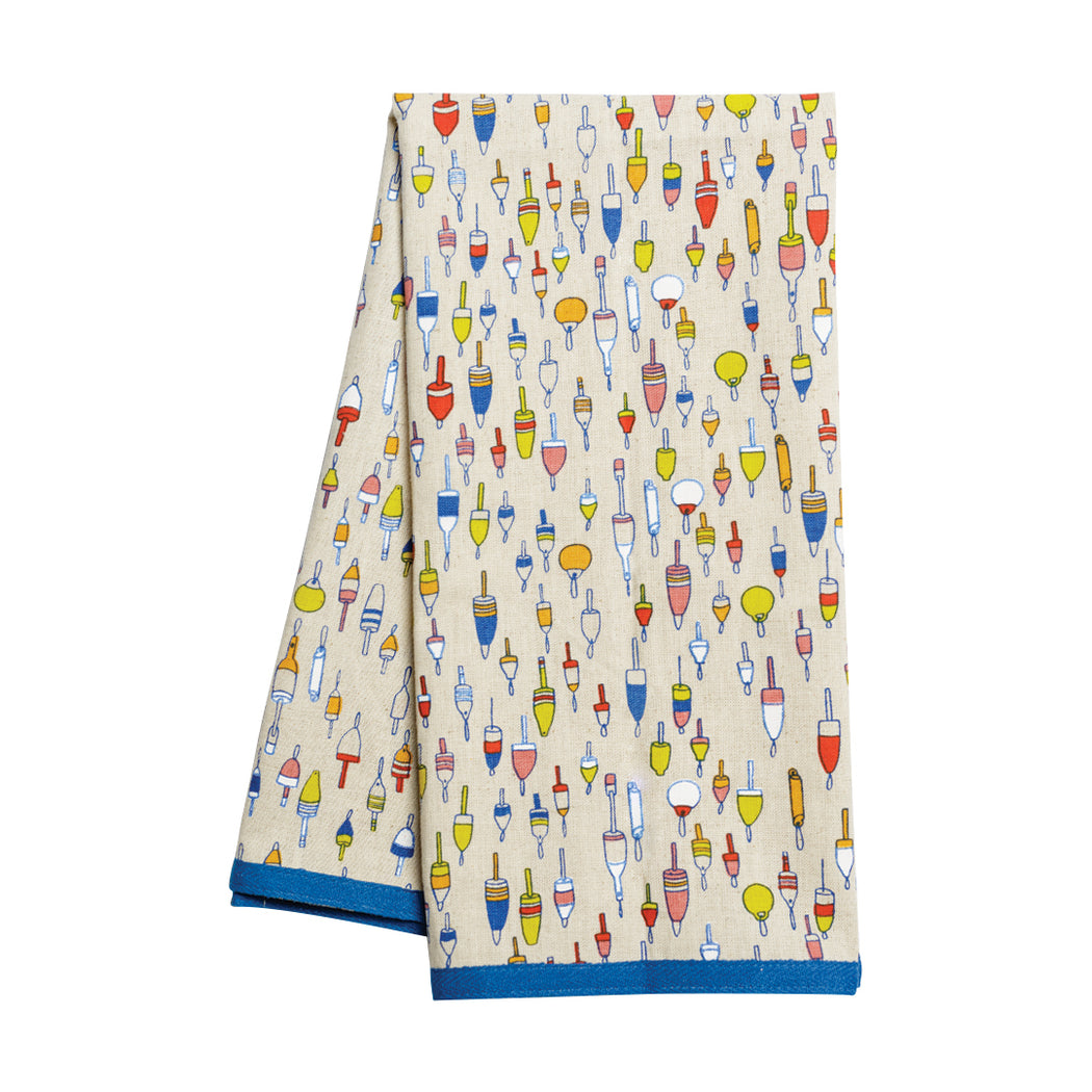 Buoys Dish Towel - Fishs Eddy