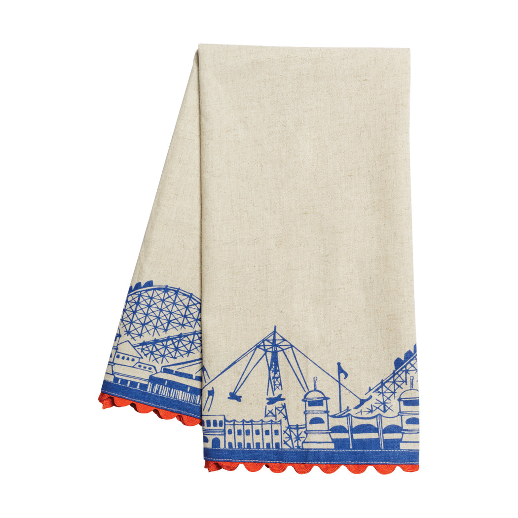 Boardwalk Dish Towel - Fishs Eddy
