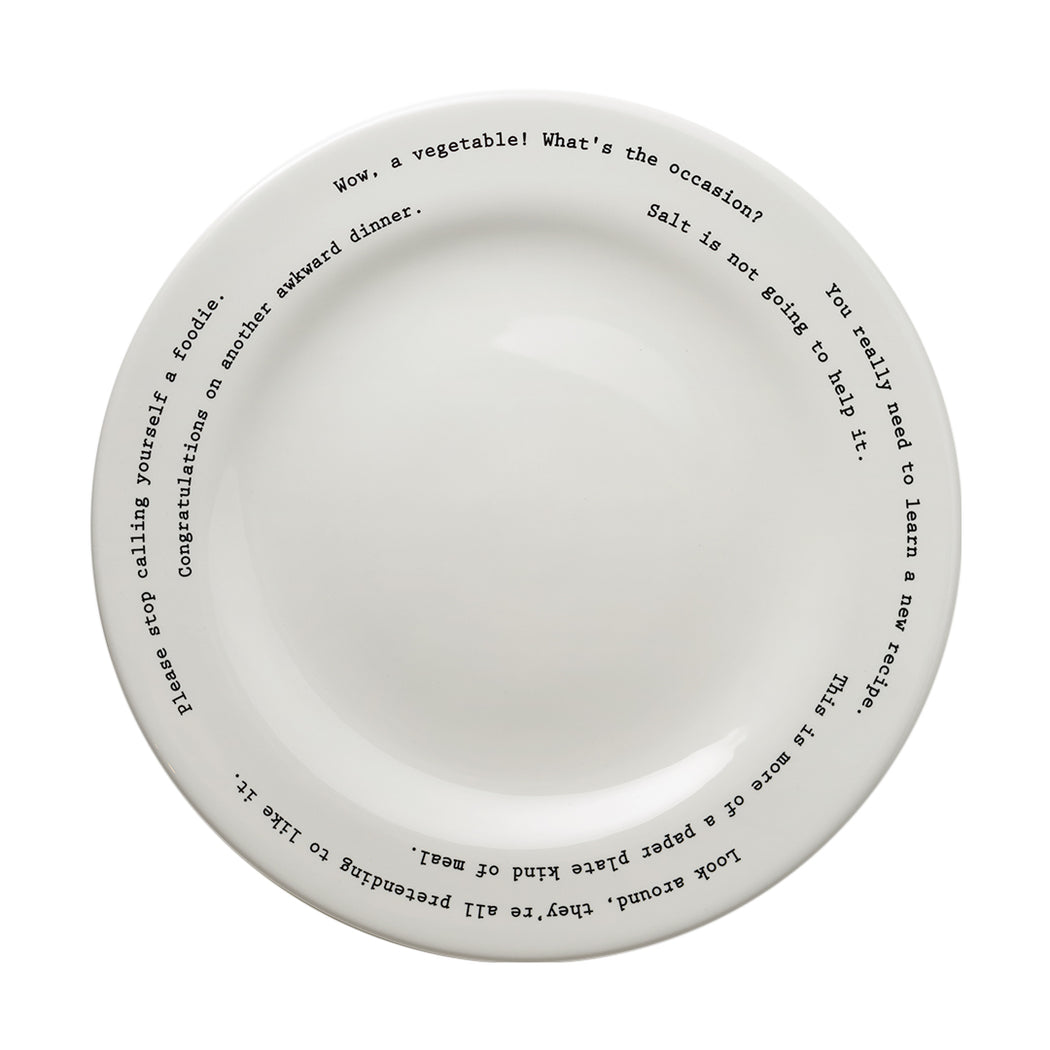 Wow A Vegetable!  Dinner Plate u2026  sc 1 st  Fishs Eddy : vegetable plate dinner - pezcame.com