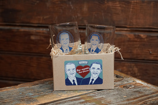 Bromance Shots Gift Box - Barack and Joe