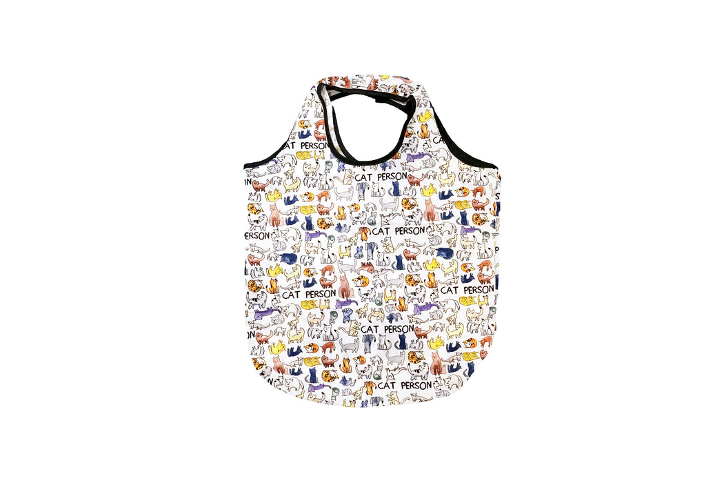 Cat Person Packable Bag - Fishs Eddy