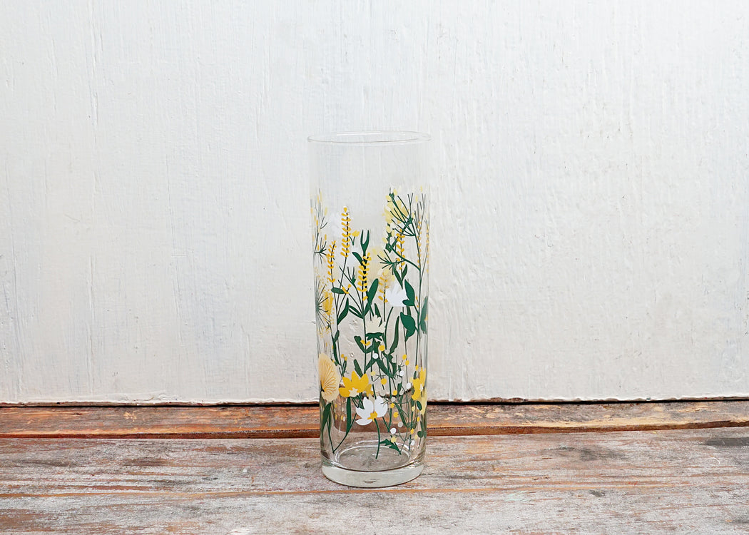 Wildflowers Glass - Fishs Eddy