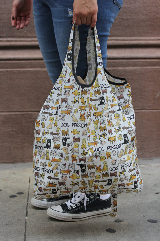 Dog Person Packable Bag