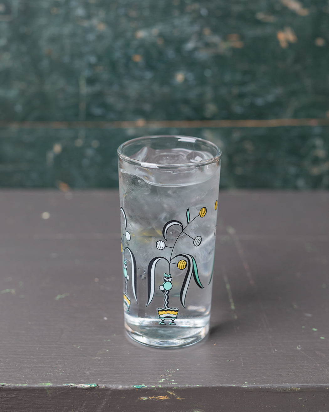 Floral Italian Wine Glass - Deco - Fishs Eddy