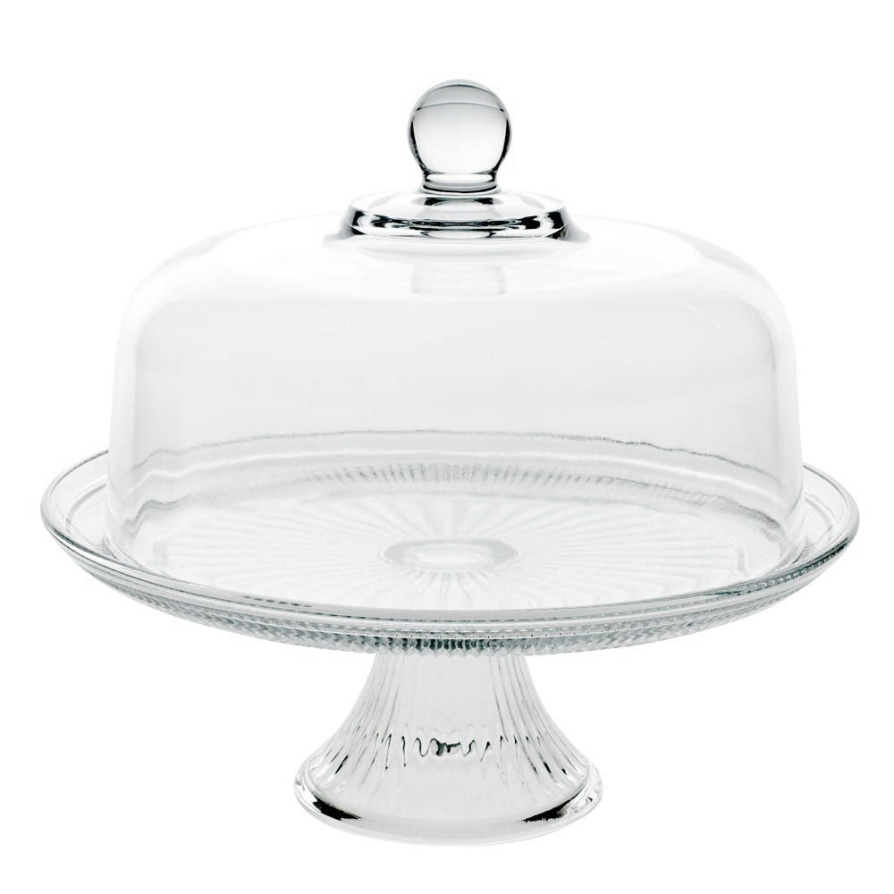 sc 1 st  Fishs Eddy & Canton Cake Stand with Dome u2014 Fishs Eddy
