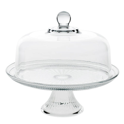 Canton Cake Stand with Dome  sc 1 st  Fishs Eddy : cake plate with dome - pezcame.com